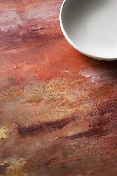 CV Red Italian Wall - Painted Photo Surface