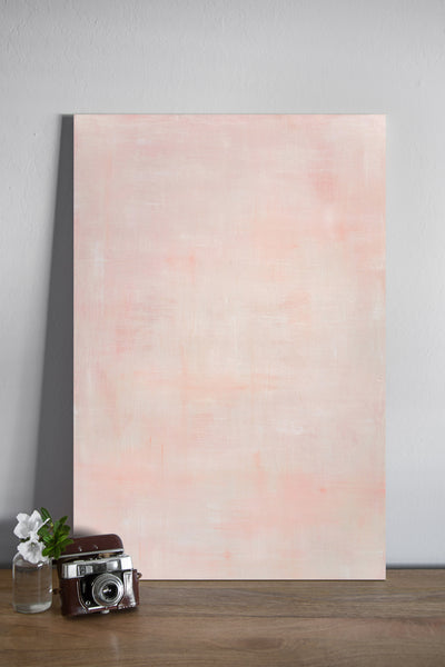 "Blush 11 - Painted Photo Surface (24""x36"")"