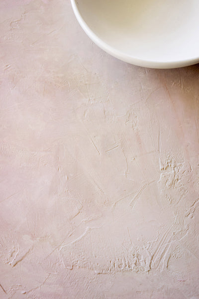 "Blush 16 - Small Painted Plaster Photo Surface (18""x24"")"