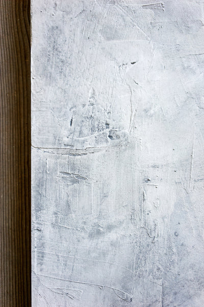 "Gray Wash 43 - Painted Plaster Photo Surface (24""x36"")"