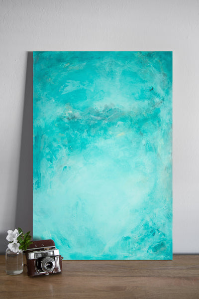 LAH Custom Turquoise - Painted Photo Surface