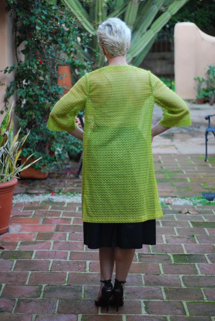 Mesh Lime Green Jacket