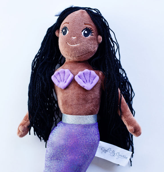 Mermaid Plush Doll