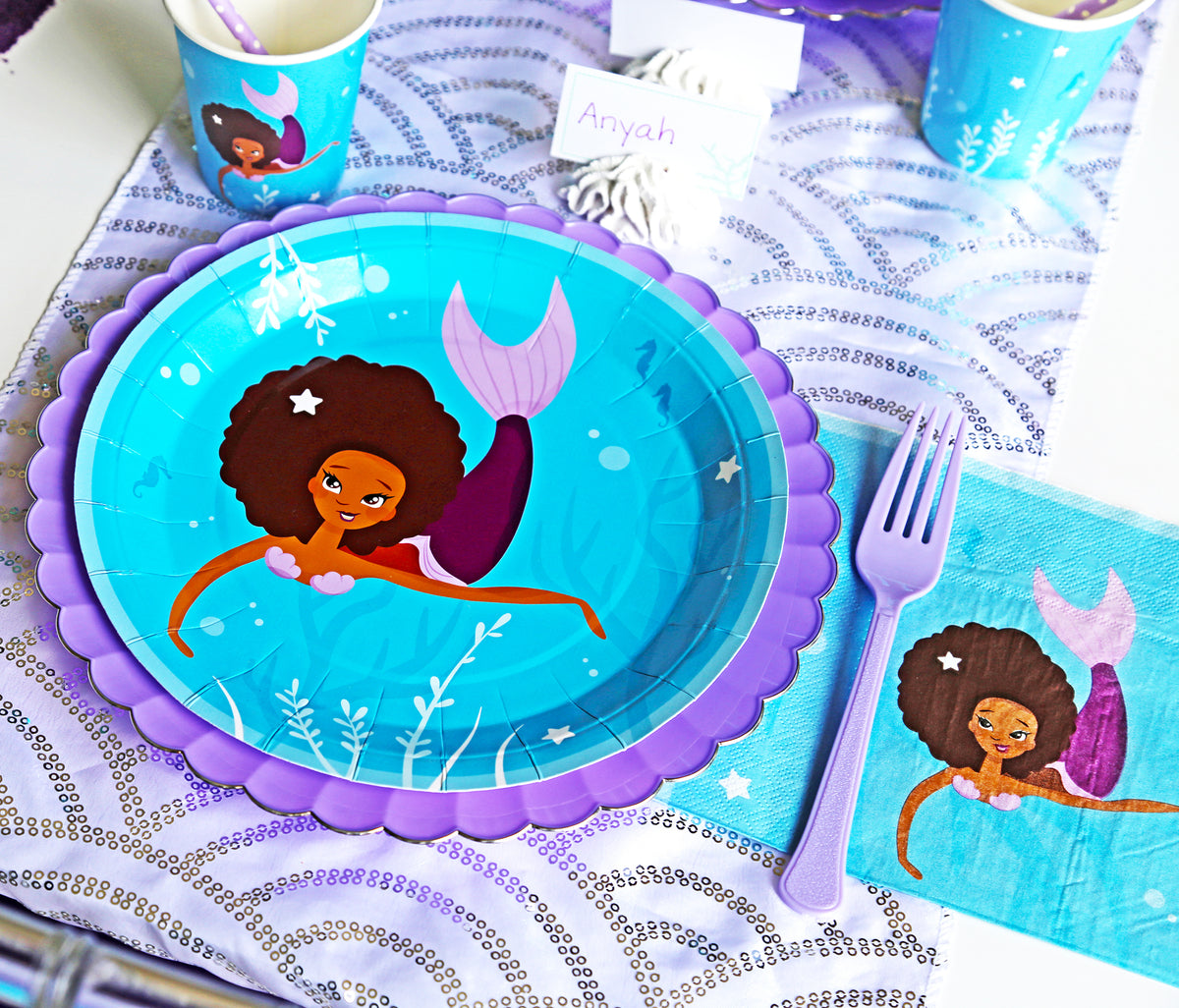 Mermaid Party Package for 8 Guests