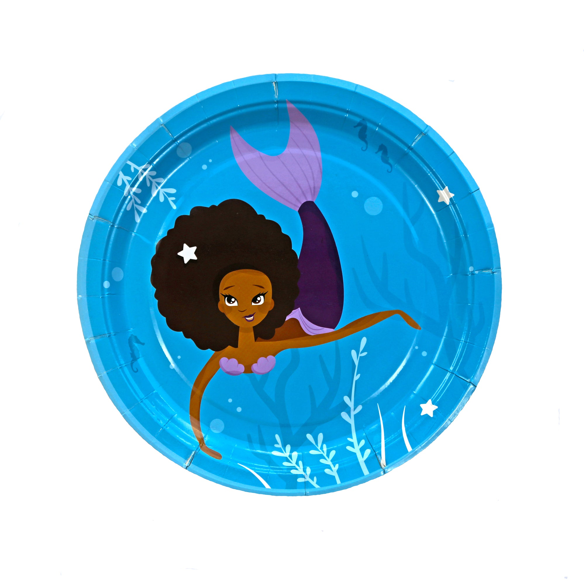 Mermaid Plates Party | Craft My Occasion
