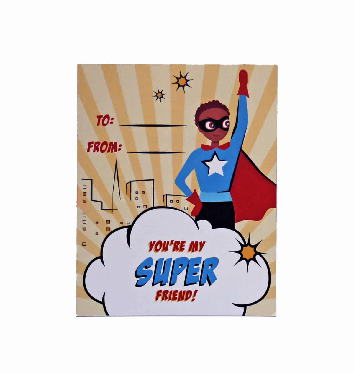 Superhero Valentine's Day Exchange Cards
