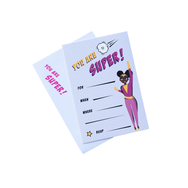 Supergirl Invitations