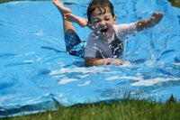 Create Your Own Backyard Slip and Slide!