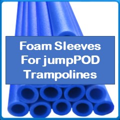 Foam Sleeves For jumpPod Trampolines