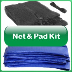 Trampoline Net And Pad Kit