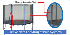 Sleeve Nets For Straight Pole Systems