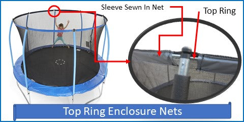Top Ring Net And Pad Kits For Angled Pole Systems
