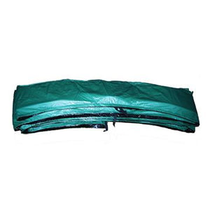 "15ft x 10inch Green Safety Pad Model PAD15-10G For 5.5"" or 7"" Inch Sized Springs - Trampoline"