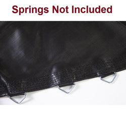 11ft Trampoline Jumping Surface-60 V-Rings-5.5in Springs