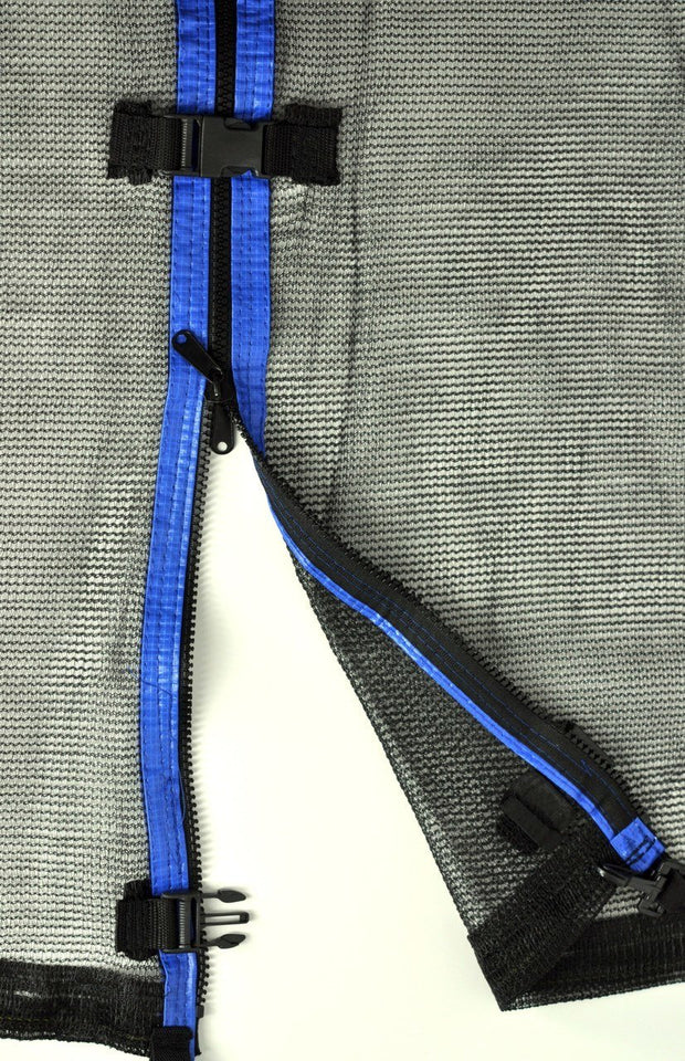 Strap Net Fits 8 Ft Round Frames With 4 Enclosure Poles