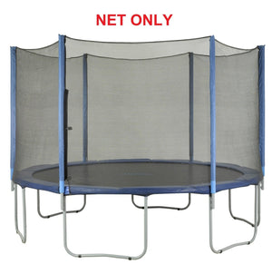 Safety Net Fits 14 Ft. Round Frames-6 poles-Installs Outside Of Frame