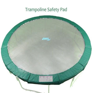 Super Spring Cover Pad Fits 12 Ft. Round Frames. 10 Wide Green