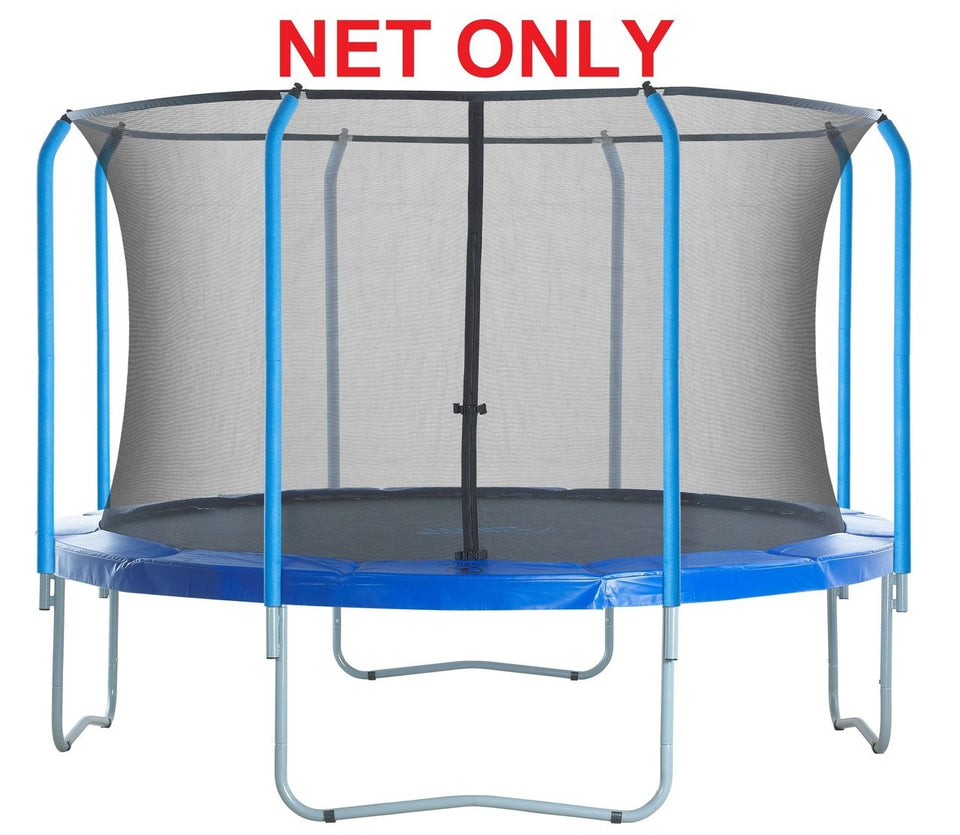 Safety Net Fits 15' Round Frames-8 Poles-Top Ring System