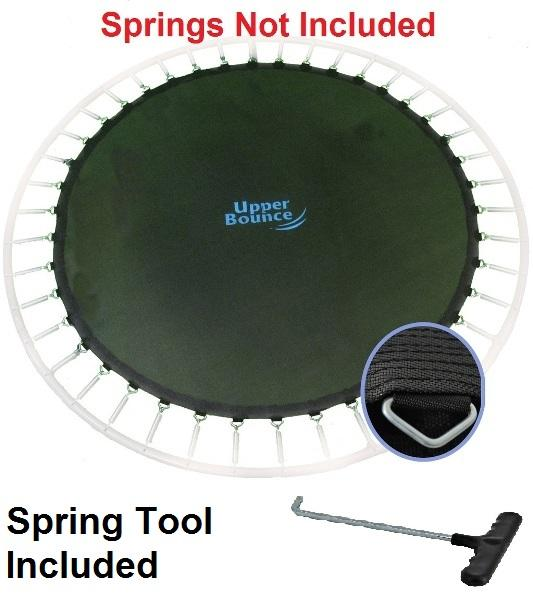 Jumpking Jump Mat Fits 12Ft Frames With 72 5.5in Springs - Free Spring Tool - Trampoline