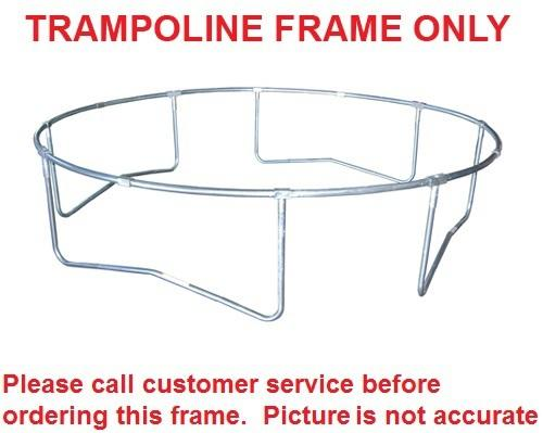 15 Foot JumpPod Trampoline Frame For 96 Springs-4 Legs - Trampoline
