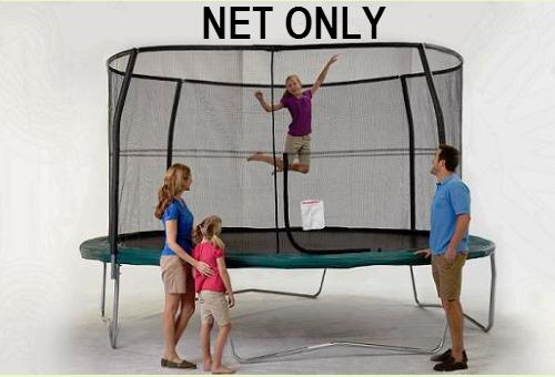 Jumpking Net Fits 14ft Diameter Frames With 4 Pole Top Ring G4 Systems - Trampoline