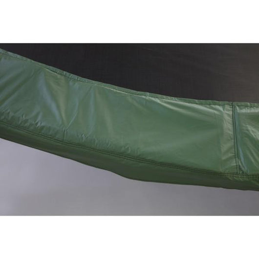 14 Ft Trampoline Frame Pad 10in Wide-Green