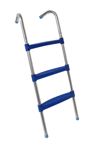 39 Ladder With 3 Wide Flat Step - Trampoline