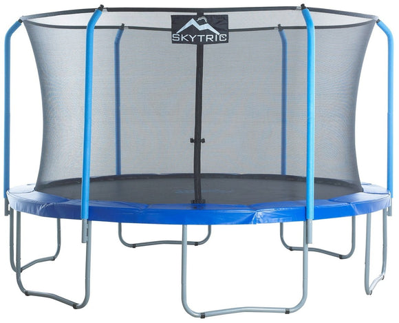 Upper Bounce Skytric 13 Ft Trampoline & Enclosure Set