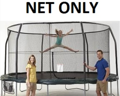 Jumpking Net Fits 12ft Diameter Frames With 6 Pole Top Ring G4 Systems - Trampoline