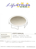 LSTX15 User Manual - Trampoline