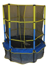 55 Kid-Friendly Trampoline & Enclosure Set