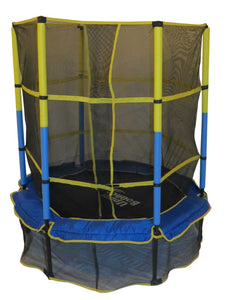 55 Kid-Friendly Trampoline & Enclosure Set - Trampoline