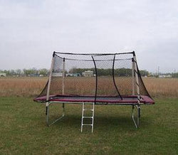 Texas Standard Trampoline With Enclosure