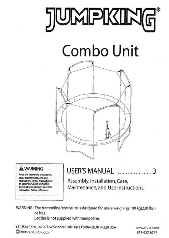 JK1511 User Manual