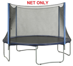 Safety Net Fits 12 Ft. Round Frames-4 poles-Installs Outside Of Frame