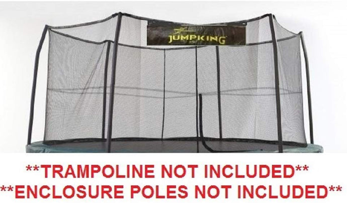 15' ft. Jumpking Trampoline Safety Net With 6