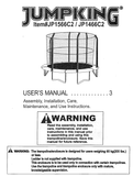 JP1466C2 - User Manual - Trampoline
