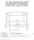 JKCB1405 User Manual - Trampoline