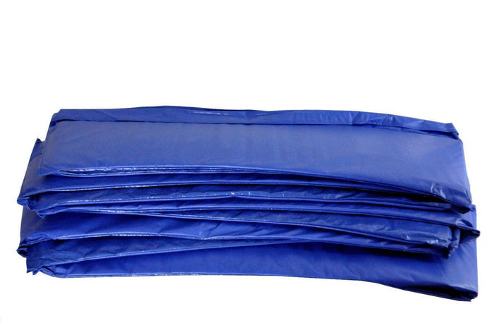 10ft x 10in Super Spring Cover Safety Frame Pad Blue - Trampoline
