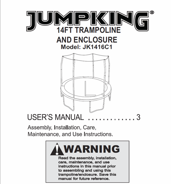 JK1416C1 User MAnual