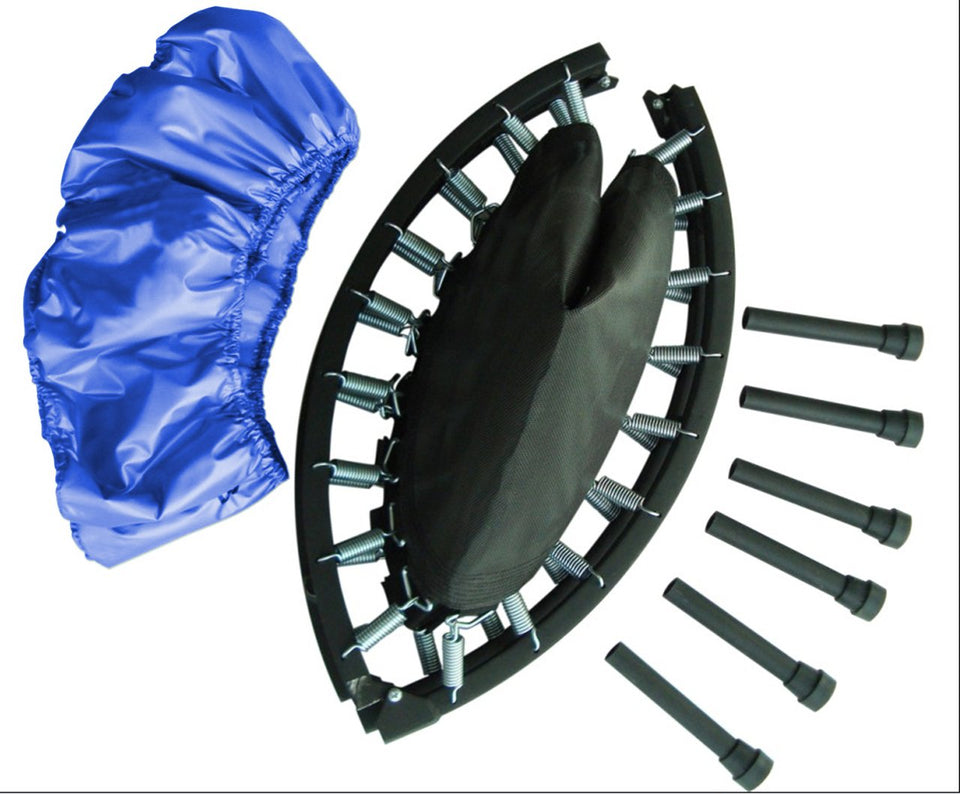 36 Two-Way Foldable Rebounder With Carry-On Bag Included - Trampoline