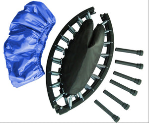 40 Two-Way Foldable Rebounder With Carry-On Bag Included