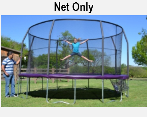 Jumpking Net Fits 15ft Diameter Frames With 8 Pole Top Ring G4 Systems - Trampoline