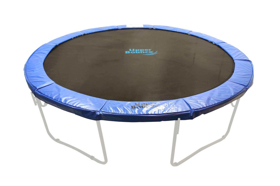 13ft x 10in Blue Super Spring Cover Safety Frame Pad - Trampoline