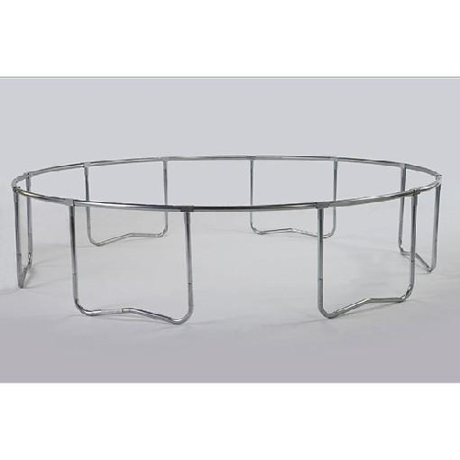 15 Foot JumpPod Trampoline Frame For 96 Springs-6 Legs - Trampoline