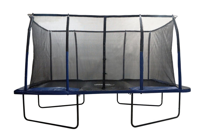 Upper Bounce 8FT X 14FT Rectangular Trampoline With Enclosure
