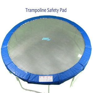 Super Spring Cover Pad Fits 14 Ft. Round Frames. 10 Wide Blue
