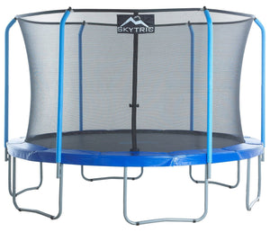 Upper Bounce Skytric 11 Ft Trampoline & Enclosure Set