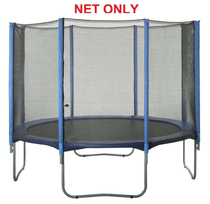 Safety Net Fits 15 Ft. Round Frames-8 poles-Installs Outside Of Frame