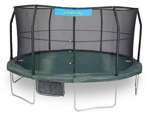 14 FT JumpPod Trampoline with Enclosure